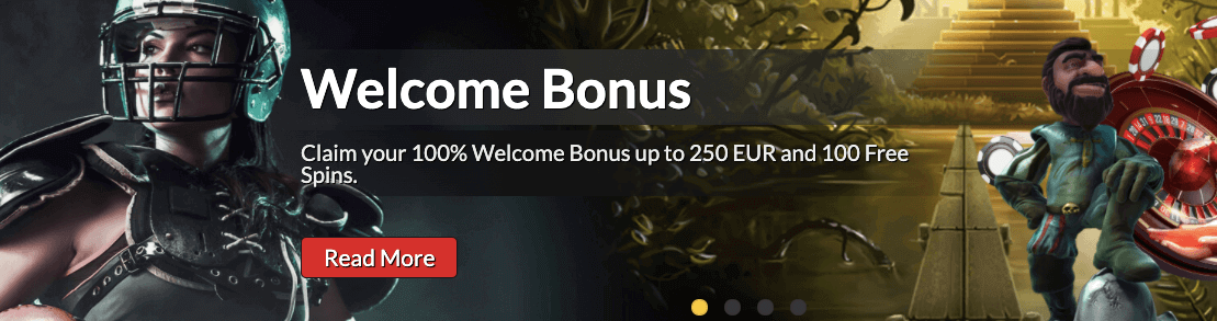 BonkersBet welcome bonus