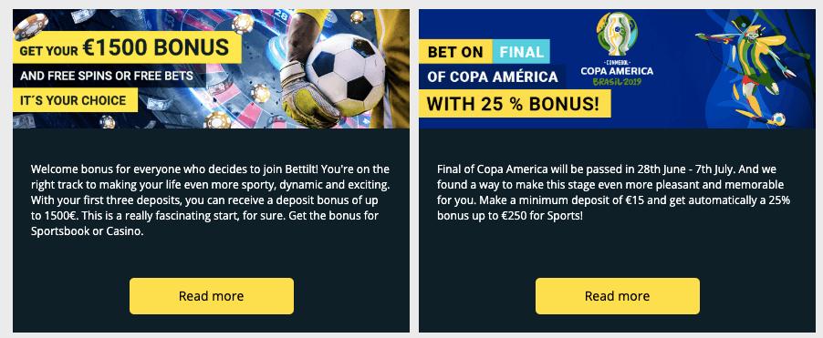 bettilt bonuses