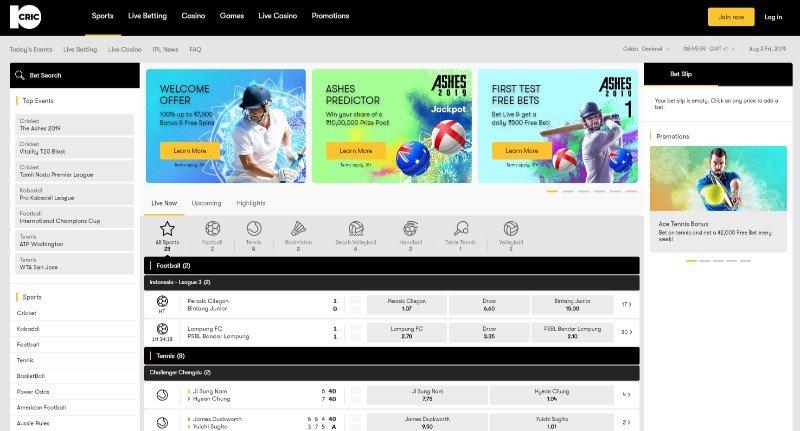 10Cric India Screenshot