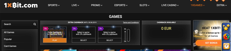 1xbit games