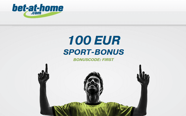 "bet-at-home.com code promo: ""firt"""