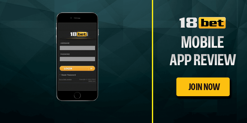 18bet mobile app