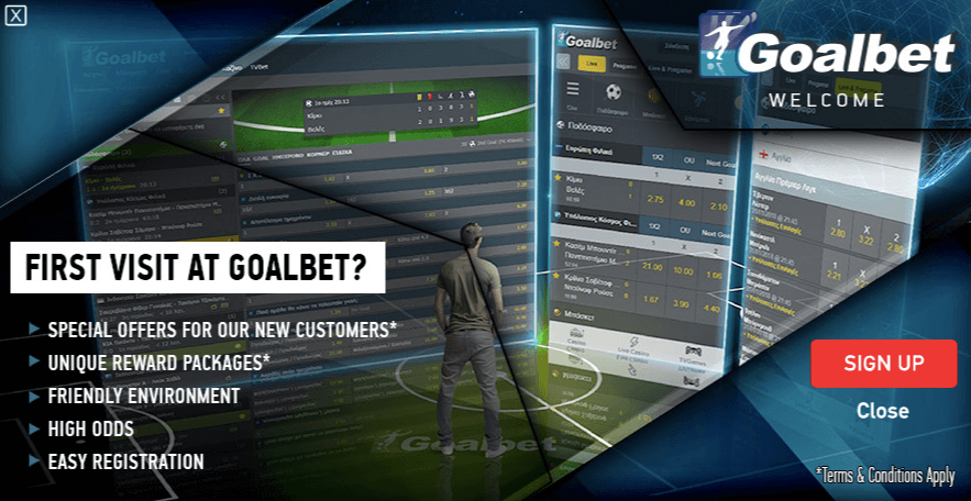 goalbet first visit