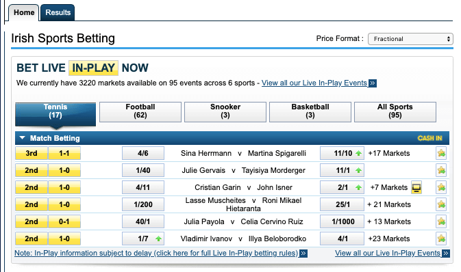 william hill platform betting