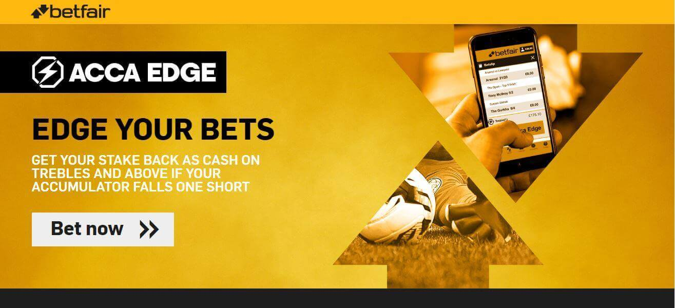 Betfair ACCA Edge Welcome