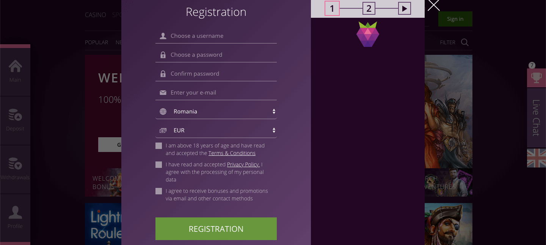 malinacasino registration