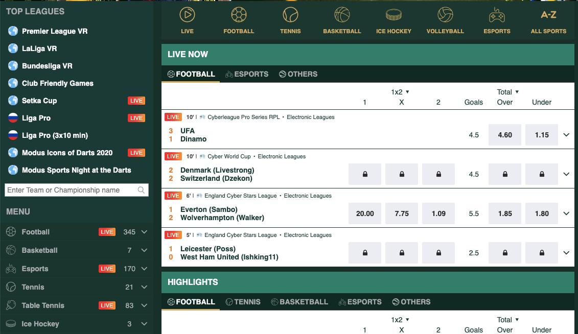 Casinia betting