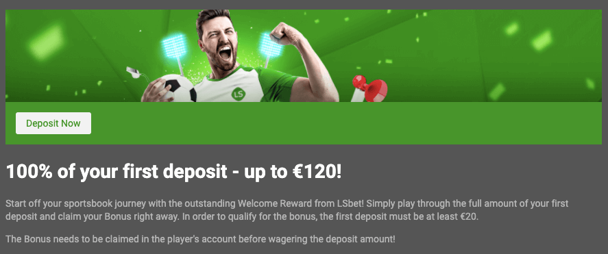 Lsbet welcome bonus