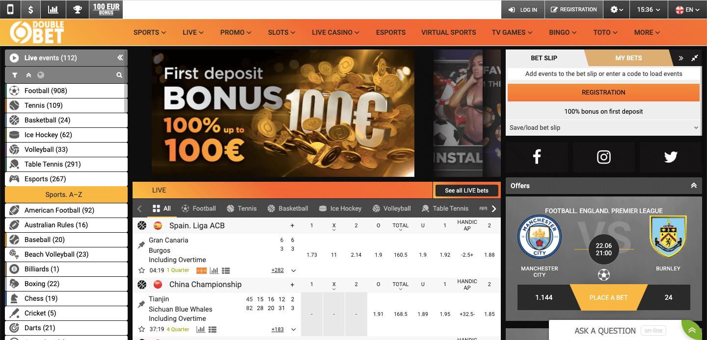 DoubleBet Screenshot