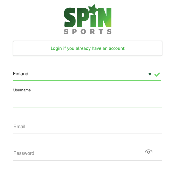 Spin sports register