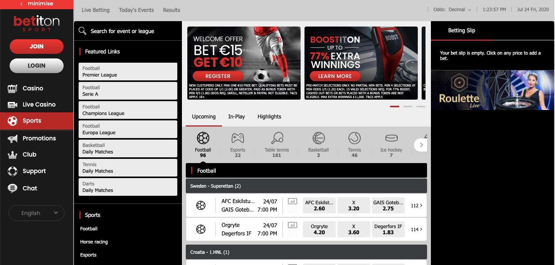 Betiton Screenshot