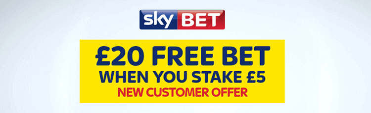 Skybet welcome bonus