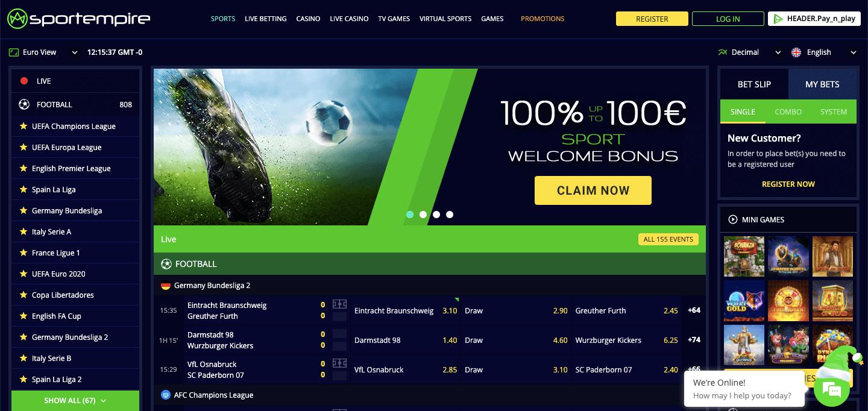 Sportempire Screenshot