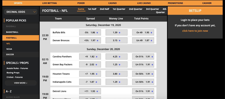 TigerGaming Betting