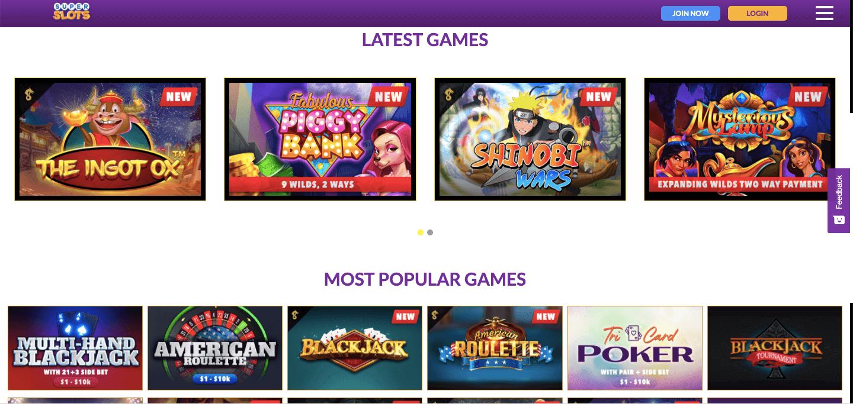 SuperSlots.ag Casino Slot