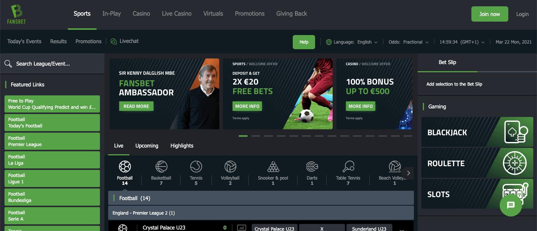 FansBet Screenshot