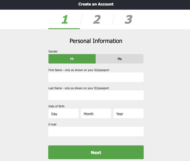 FansBet Register